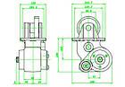 Коробка відбору потужності на Iveco SPR2895.9 V013, фото 2