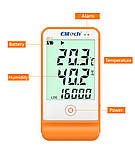 Регистратор температуры и влажности Elitech GSP-6 (Великобритания) с выносным датчиком, памятью 16 000, ПО, фото 3