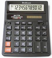 Калькулятор Brilliant bs-777bk (157*200*31мм)
