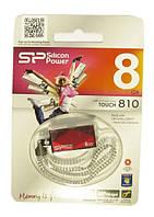 Флэш-память usb  8Гб Sp Touch 810 usb 3.0