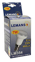 Лампа led  7Вт 4500K E14 R50 230В 480Lm Lemanso LM354