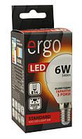Лампа led 6Вт 3000K E14 G45 220В 540LmErgo