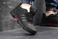 Чоловічі зимові кросівки Adidas Climaproof (3465) чорні з сірим f2a9580e7ccc5