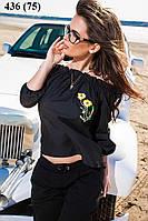 Блузка женская с вышивкой 436 (75) Код:533816914