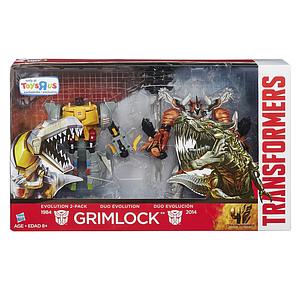 Набір трансформерів Грімлок 2в1 - Grimlock, Evolution 2-pack, TF4, Hasbro