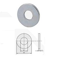 Шайба плоская увеличенная оцинкованная (поверхность оцинкование, норма DIN 9021, норма PN 82030)