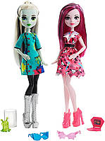 Набор кукол класс моды и науки Монстер Хай Френки и Дракулаура,Monster High Science Fashion