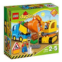 Грузовик и гусеничный экскаватор, LEGO (10812)