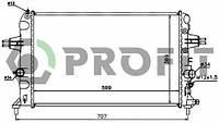 Радиатор охлаждения Opel Astra G 1.6 00- Profit