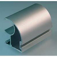 Профиль алюминиевый вертикальный открытая ручка для раздвижных дверей