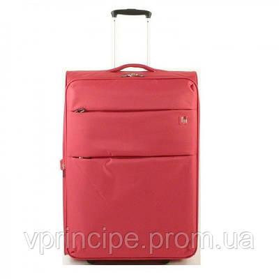 Чемодан на колесах (Roncato) 425002/09 (60/67л) красный текстиль 2 колеса