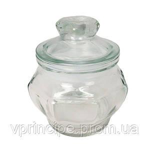 "Декор стекло ""Банка с крышкой"" 13*9см SA-2799"