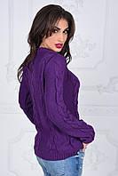 Свитер вязанный женский, 4 цвета  арт 2146-222