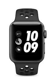 Apple Watch Series 3 GPS 42mm Space Gray Aluminum Case with Anthracite / Black Nike Sport Band (MQL42)
