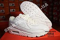 Кроссовки Nike Air Max 90 White Gray Белые женские