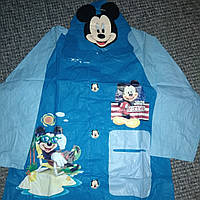 Плащ дождевик детский Микки Маус (размер M)