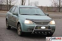 Кенгурятник Chevrolet Lacetti (WT003 нерж) Ø42