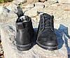Ботинки зимние мужские черные Botus нат. кожа, фото 6
