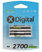 Акумулятор  X-Digital HR06 2700 mAh