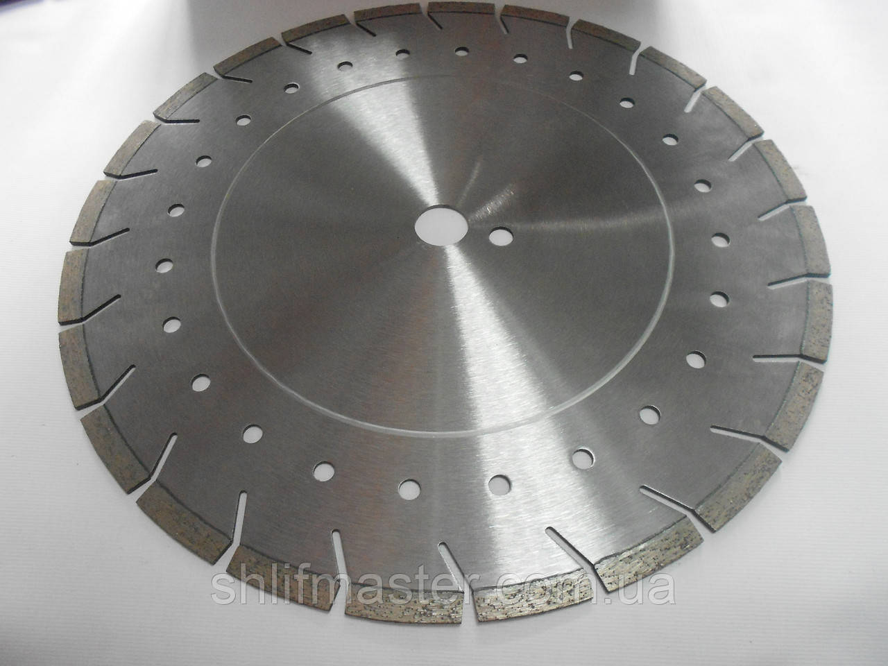 Алмазный круг PALMINA 350х25.4 по армированному бетону