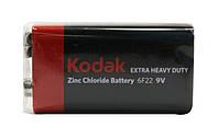 Батарейка R61(солевая крона) 6F22  Kodak