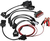 OBD2 переходники для легковых автомобилей к Autocom CDP TCS DS150E, 8 штук