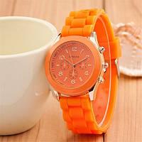 Яркие женские часы Geneva Orange
