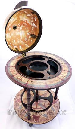 Глобус бар напольный 420мм-Зодиак 42001N, фото 2