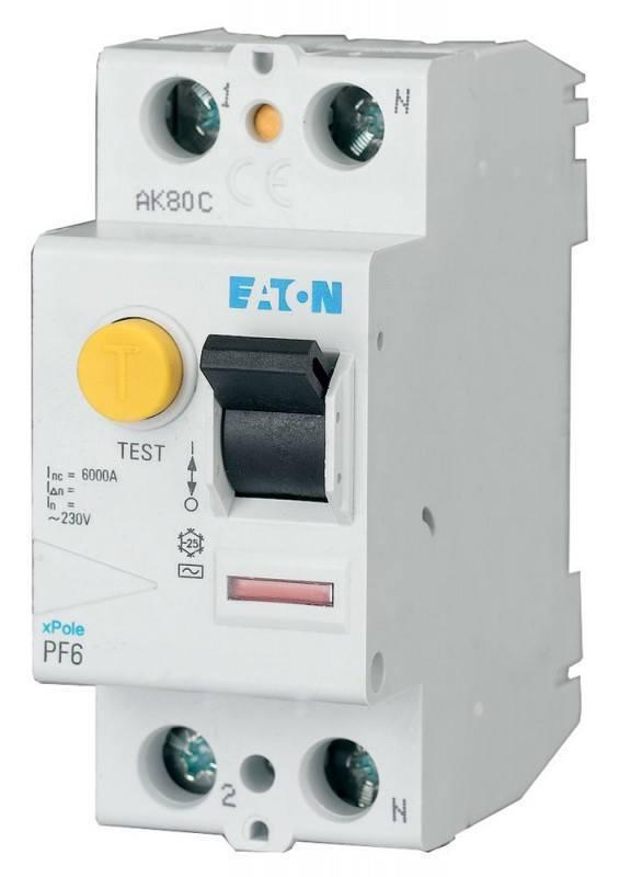 Пристрій захисного відключення PF6-63/2/05 (286503) Eaton