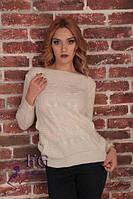 Женский свитер  их акриловой нити по привлекательной цене