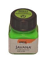 Краска для ткани KREUL 20мл флуоресцентная Светло-зеленая