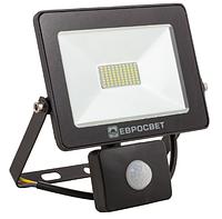 Прожектор 20W c датчиком движения 1600Lm 6400K IP65 EVRO LIGHT