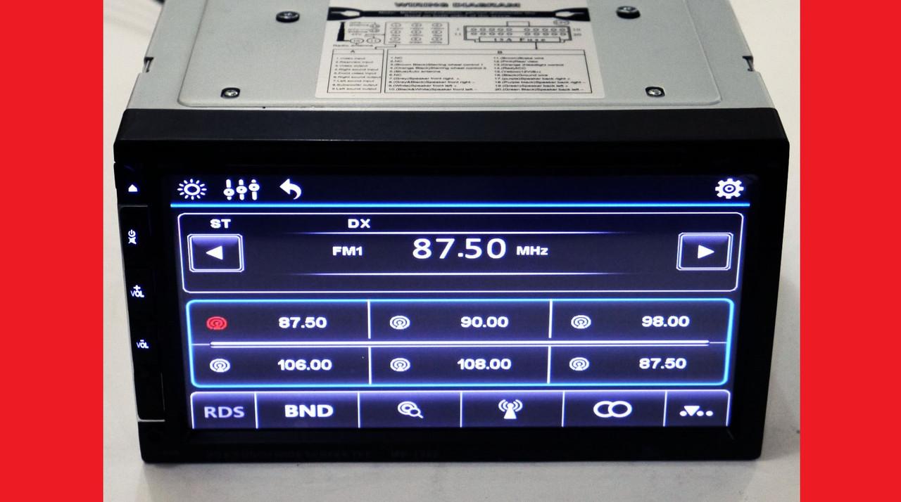 "2din Pioneer 1369 7"" экран GPS-Mp3-Dvd-Tv/Fm-тюнер(copy)"