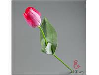 Тюльпан 005-7 розовый 56см