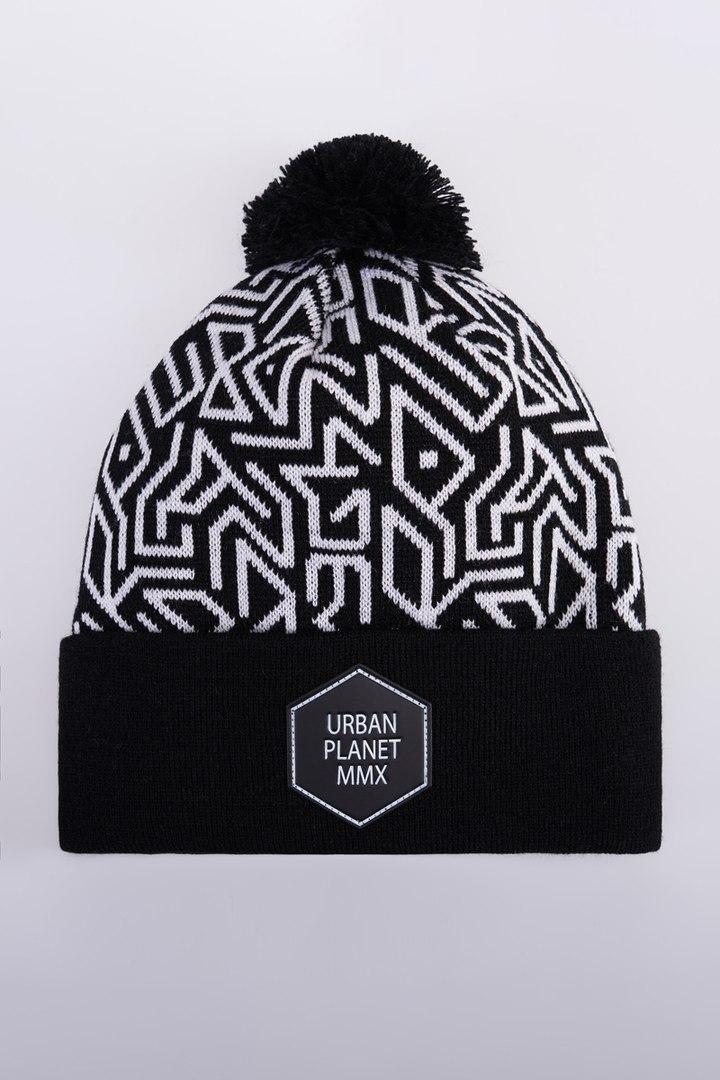 Шапка зимняя двойная Urban Planet С29 LAB (теплая шапка, шапка мужская