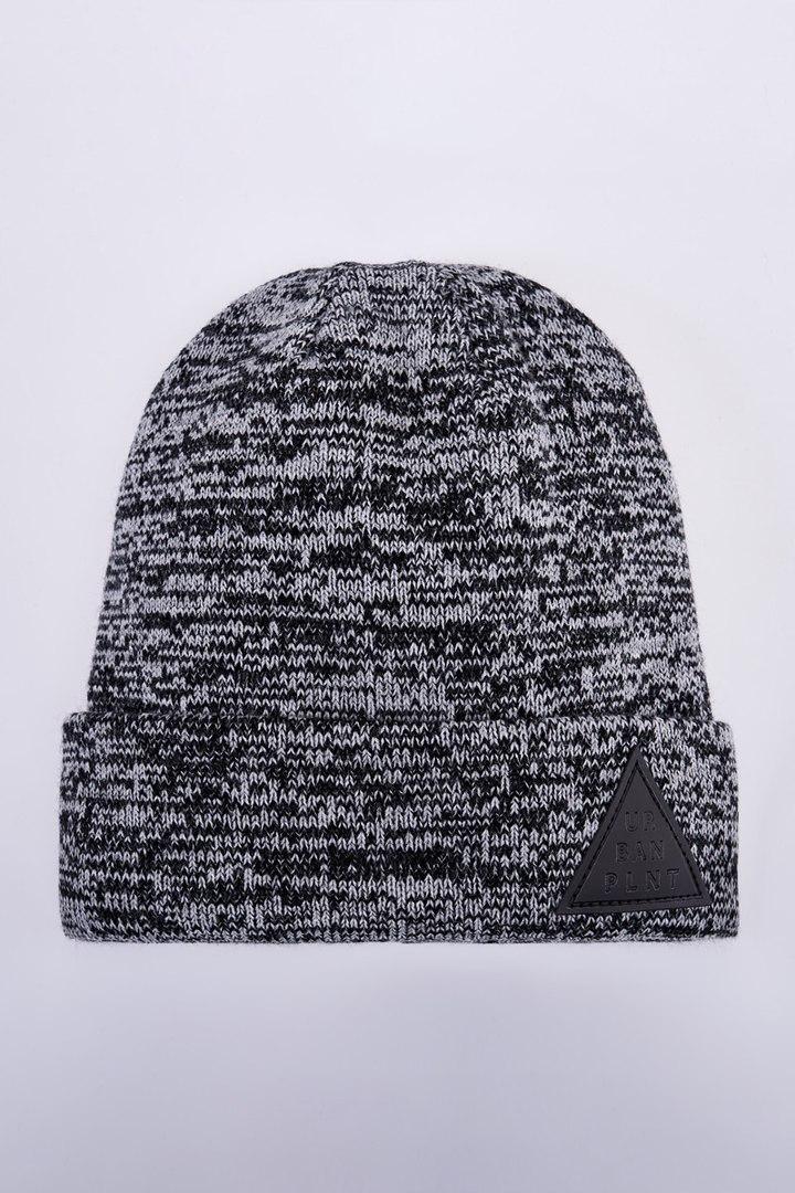 Шапка зимняя двойная Urban Planet C37 GM (теплая шапка, шапка мужская,