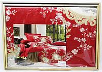 Комплект постельного белья - Линда де люкс сатин семейный (на 2 под.)