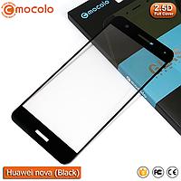 Защитное стекло Mocolo Huawei nova Full cover (Black), фото 1