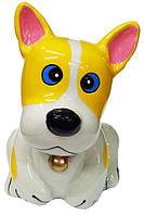 Копилка керамическая Собака 12см