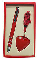 """Набор подарочный ручка и флешка на 4 Гб """"Сердце"""")"""