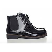 Лакированные ботинки на низком ходу 1018-04л