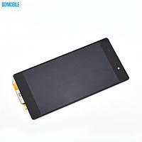 Дисплей + сенсор (модуль) Sony D6502 Xperia Z2, D6503 Xperia Z2 черный оригинал (Китай)