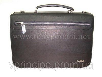 Портфель кожа (Tony Perotti) 9113-40 Contatto коричневый