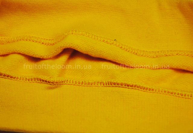 Солнечно-жёлтый детский классический свитер