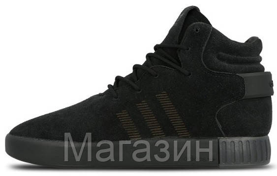 Мужские кроссовки Adidas Tubular Invader (Адидас Тубулар) черные - Магазин  обуви Scamper в Киеве 7ce9b9598b1