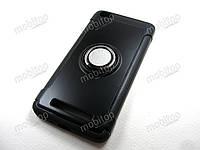 Противоударный чехол с кольцом Xiaomi Redmi 4A (черный), фото 1