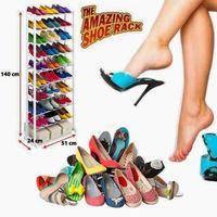 Органайзер для обуви amazing shoe rack на 21 пару