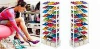 Подставка для обуви amazing shoe rack на 21 пару обуви