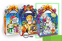 """Новогодняя упаковка 832*3 """"Сумочка снеговички"""""""