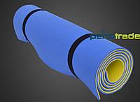 Коврик (каремат) для спорта, фитнеса и йоги Евалайн 8